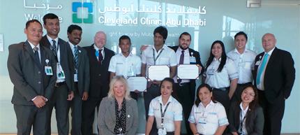 Cleveland Clinic Caregiver Honors Award