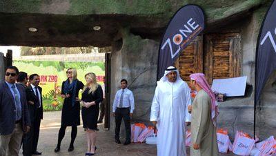 Emirates Park Zoo Sponsorship Event