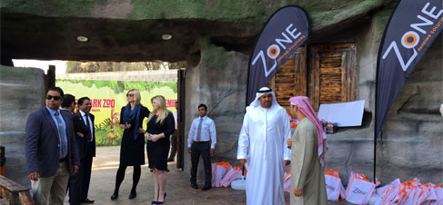 Emirates Park Zoo Sponsorship Event